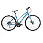 more details on Indigo Verso S3 17.5 Inch Hybrid Bike - Ladies.
