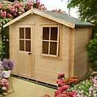 more details on Homewood Hartley Wooden Cabin - 8 x 8ft.