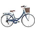 more details on Kingston Dalston 19 Inch Classic Blue Bike - Ladies.