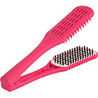 Straight 'n' Go Hair Straightener Brush - Pink