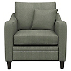 more details on Heart of House Newbury Fabric Check Chair - Charcoal.