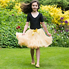 more details on Frothy Tutu Skirt - Gold Sequin - 9 - 13 years.