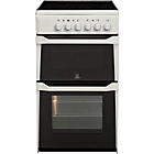 more details on Indesit IT50CW Single Electric Cooker - White/Exp Del.