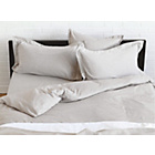 more details on Habitat Skye Kingsize Duvet Cover - Oatmeal.
