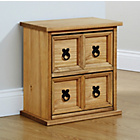 more details on Mountrose Puerto Rico 2 Drawer Unit - Waxed Pine.