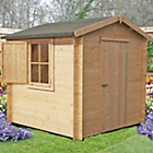 more details on Homewood Camelot Wooden Cabin - 9 x 9ft.