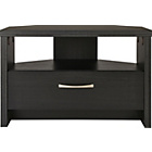 more details on Venice Corner TV Unit - Black Oak Effect.