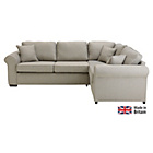 more details on Collection Erinne Fabric Right Hand Corner Sofa - Grey.