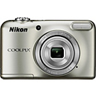 more details on Nikon Coolpix L31 16MP 5xZoom Compact Digital Camera-Silver.
