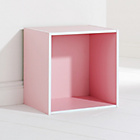 more details on Mountrose Cube Storage Unit - Pink.