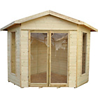 more details on Forest Honeybourne Wooden Summerhouse - 11 x 8ft.