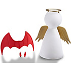 more details on Spearmark Angel and Demon Moody Lamp.