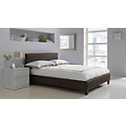 more details on Hygena Constance Double Bed Frame - Chocolate.