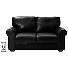 more details on Heart of House Salisbury Regular Leather Sofa - Black.
