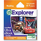 more details on LeapFrog LeapPad Explorer Ultra eBook - Cars 2.