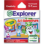 more details on LeapFrog Explorer Learning Game: Crayola.