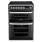 more details on Hotpoint CH60EKK Electric Cooker - Black.