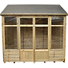 more details on Forest Kempsford Wooden Summerhouse - 8 x 6ft.