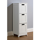 more details on Mountrose Colonial 3 Drawer Storage Unit - White.
