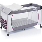 more details on Babymoov Curve Dream Travel Cot - Zinc and Hibiscus.