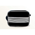 more details on Stripes Lunch Bag - Black and White.