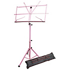 more details on Windsor Folding Music Stand - Pink.