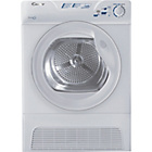 more details on Candy GCC5101NB Condenser Tumble Dryer - White/Ins/Del/Rec.