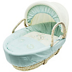 more details on Daisy Boo Picnic in the Park Blue Moses Basket.