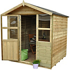 more details on Forest Stroud Wooden Summerhouse - 6 x 6ft.