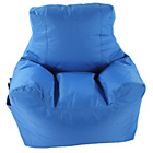 more details on Large Teenage Chair Beanbag - Blue.