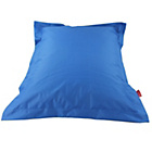 more details on Large Square Beanbag Floor Cushion - Blue.