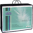 more details on Downland 12cm Duck Feather Mattress Topper - Superking.