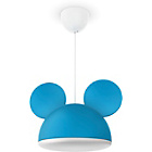 more details on Philps Disney Mickey Mouse Pendant Lightshade - Blue.