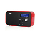 more details on ALBA MONO DAB RADIO - RED