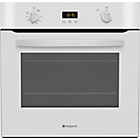 more details on Hotpoint SH33WS Single Electric Oven - White.