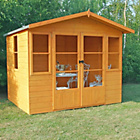 more details on Homewood Milton Wooden Summerhouse - 8 x 8ft.