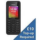 more details on EE Nokia 130 Mobile Phone - Black.