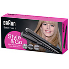 more details on Braun Satin Hair Style and Go Straightener.