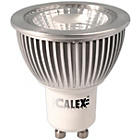 more details on Calex LED COB GU10 6W Daylight 6500K 370 Lumen Dimmable.