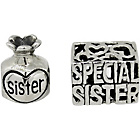 more details on Link Up S.Silver Special Sister/Sister Perfume Charms - 2.