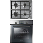 more details on Hoover HPRGM7 Electric Oven with Gas Hob - Stainless Steel.