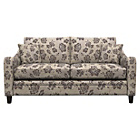more details on Heart of House Newbury Regular Fabric Floral Sofa -Chocolate