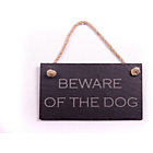 more details on Slate Hanging Sign - Beware of the Dog.
