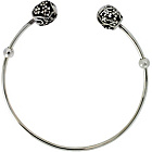 more details on Link Up Sterling Silver Filigree Ends Bangle.