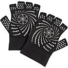 more details on Gaiam Grippy Yoga Gloves - White Dots.