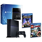 more details on PS4 500GB Console, LEGO Avengers and Minecraft Pre-order.