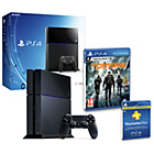 more details on PS4 500GB Console, The Division, 12 Month PSN Plus Pre-order