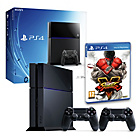 more details on PS4 500GB Console, Street Fighter V, DualShock 4 Pre-order.