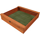 more details on Plum Products Square Outdoor Play Wooden Sand Pit.