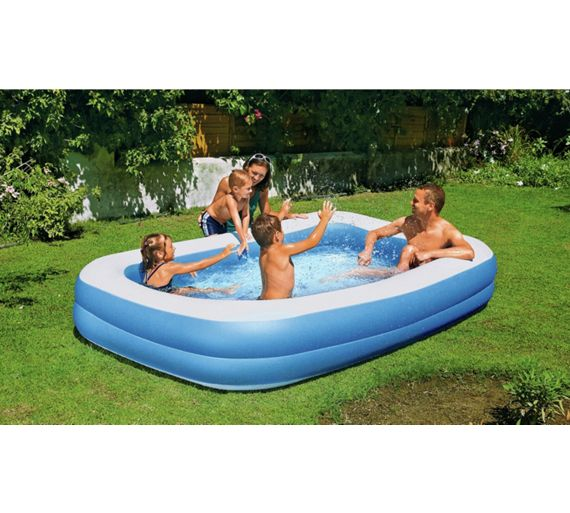 Buy Chad Valley Family Swim Centre Rectangular 950 Litre Pool At Your Online Shop